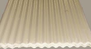 chapa plastica 450grs. acanalada o trapezoidal blanca-transparente o verde